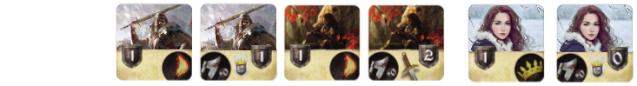 la rébellion de Robert Baratheon façon tempête de lame par pazu  Stark12