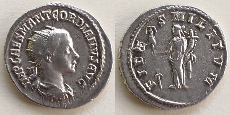 antoninien Gordien - Fides Militvm - Antioche Gordie10