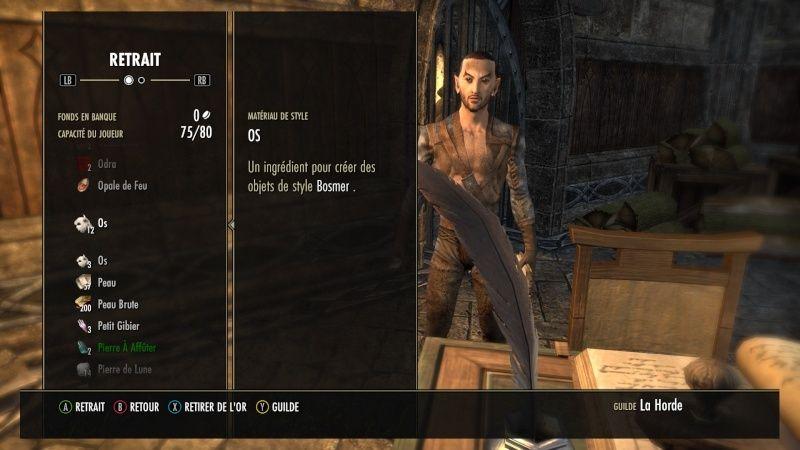 The Elder Scrolls Online : TESO - Guilde de La Horde Screen23