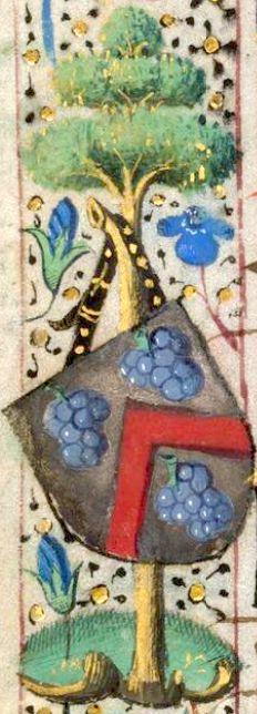 La vigne et le raisin Bude_g10