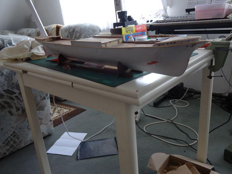 Instandsetzung der Pamir von Graupner, gebaut von Kurti P_110