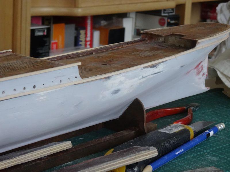 Instandsetzung der Pamir von Graupner, gebaut von Kurti P_210