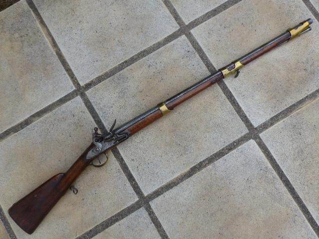 Mousqueton de cavalerie 1766 P1040435