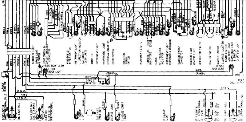 Pontiac Strato Chief 1960,cherche wiring pour vieille voiture  190-310