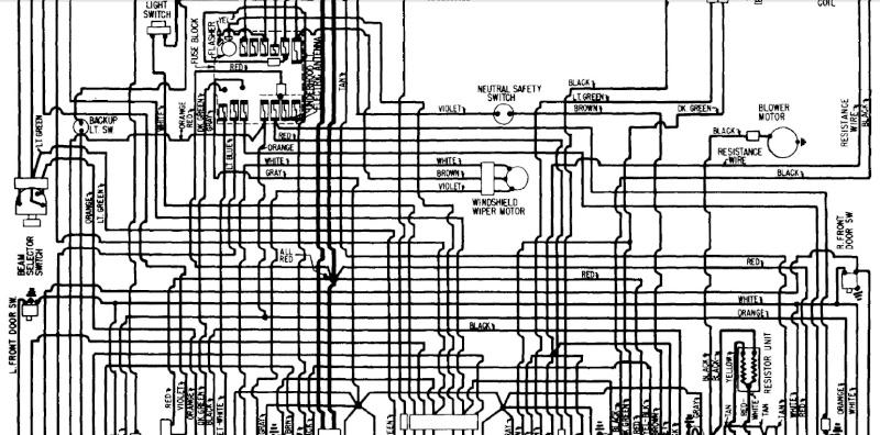 Pontiac Strato Chief 1960,cherche wiring pour vieille voiture  1960-210