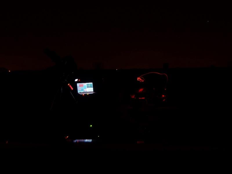 Observation à Ramillies ce 21 août 2015  CROA et remarques  P1050116