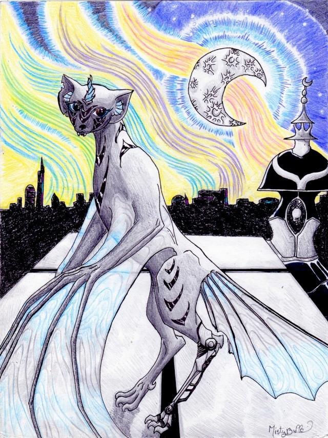 Dragons, chimères et créatures arc-en-ciel - Page 7 Noctul10