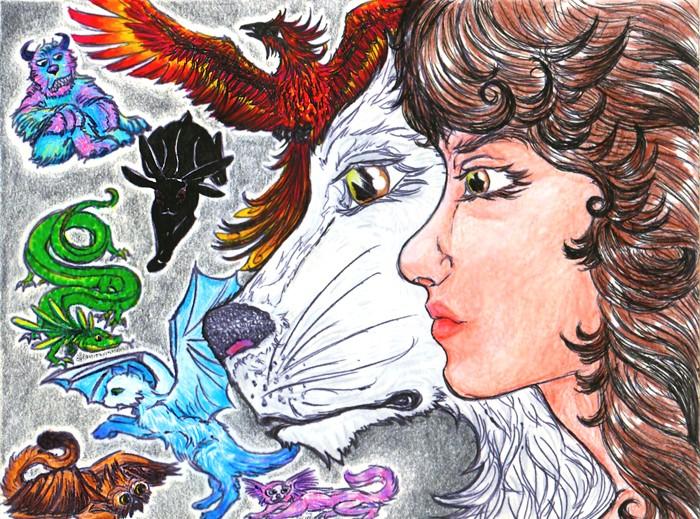 Dragons, chimères et créatures arc-en-ciel - Page 7 Perlin10