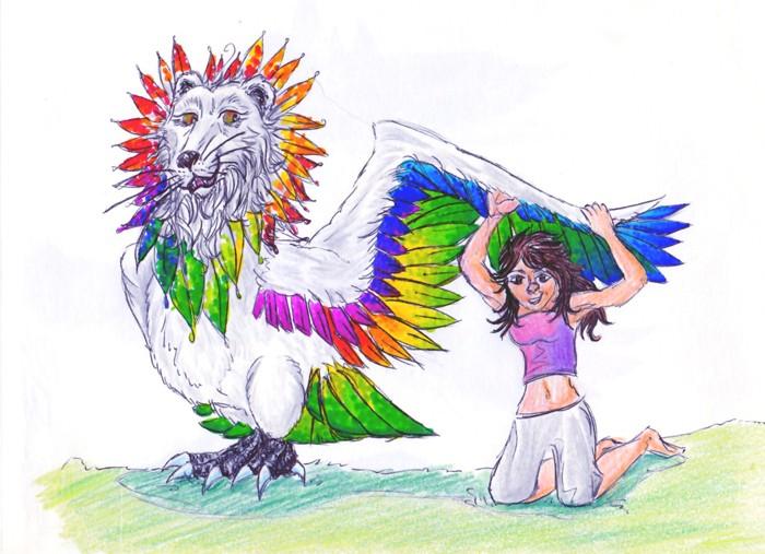 Dragons, chimères et créatures arc-en-ciel - Page 7 Perlin11