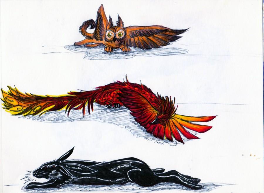 Dragons, chimères et créatures arc-en-ciel - Page 7 Perlin12