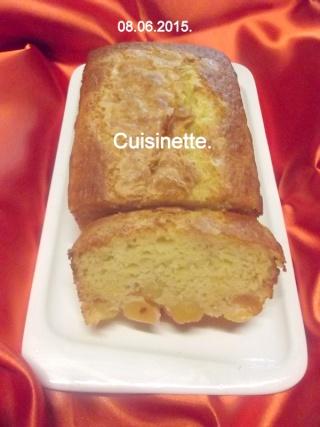 Cake aux cerises cœur de pigeon.photos. Dscf5718