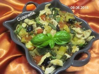 Émincé de poulet de légumes tricolores.photos. Img_7392