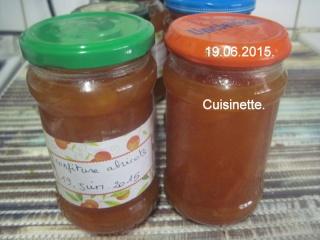Confiture d'abricots.en machine à pain.photos. Img_7610
