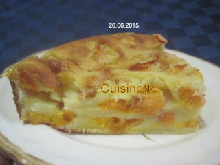 Clafoutis aux abricots.photos. Img_7824