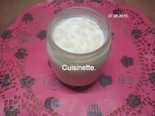 Yaourts aux poires.yaourtière.photos. Img_7862