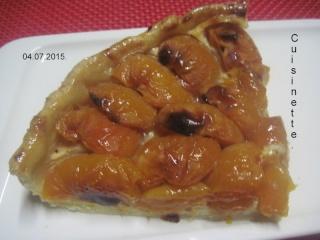 Tarte aux abricots.et Mascarpone.photos. Img_8013