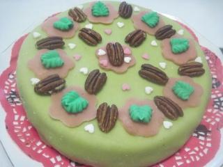 Gâteau fourré à la crème au beurre chocolaté.photos. Img_8187
