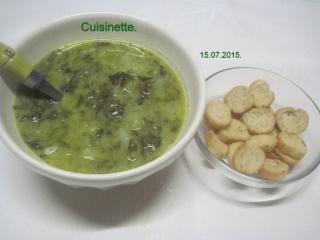 Soupe à l'oseille.photos. Img_8258
