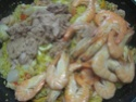 Boulgour aux crustacés.saumon rose.safranés.photos. 11406910