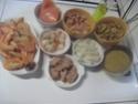 Boulgour aux crustacés.saumon rose.safranés.photos. 11427710