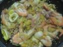 Boulgour aux crustacés.saumon rose.safranés.photos. 17712_10