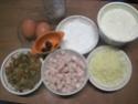 Flan aux légumes.jambon.crème fraiche.photos Img_7149