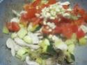 Émincé de poulet de légumes tricolores.photos. Img_7154