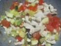 Émincé de poulet de légumes tricolores.photos. Img_7155