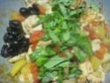 Émincé de poulet de légumes tricolores.photos. Img_7156