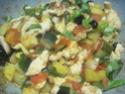 Émincé de poulet de légumes tricolores.photos. Img_7157