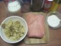 Emincés de dinde à la sauce blanche et champignons.photos. Img_7206