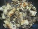 Émincé de poulet aux cocktail de champignons.photos. Img_7239