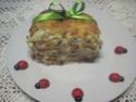 Flan aux légumes.jambon.crème fraiche.photos Img_7317