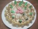 Gâteau aux framboises, chocolat blanc praliné Img_7335