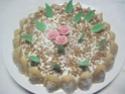 Gâteau aux framboises, chocolat blanc praliné Img_7336