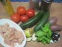 Émincé de poulet de légumes tricolores.photos. Img_7393