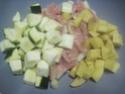 Émincé de poulet de légumes tricolores.photos. Img_7397
