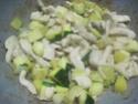Émincé de poulet de légumes tricolores.photos. Img_7399