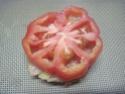 Hamburger de tomate.saumon et mozzarella.photos. Img_7411
