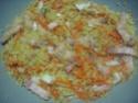 Boulgour aux légumes et jambon cru.photos. Img_7523