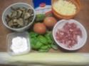 Quiche aux champignons et lardons fumés.photos. Img_7578