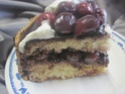 Gâteau chocolaté aux cerises.photos. Img_7710