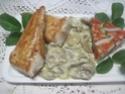 Emincés de dinde à la sauce blanche et champignons.photos. Img_7920