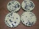 Tartelettes aux myrtilles à la crème.photos. Img_8084