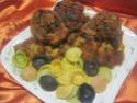 Osso bucco  de dinde aux champignons et basilic Img_8145