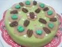 Gâteau fourré à la crème au beurre chocolaté.photos. Img_8167