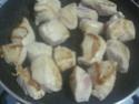 Légumes variés aux cubes de poulet.photos. Img_8238