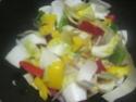 Légumes variés aux cubes de poulet.photos. Img_8240