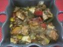 Légumes variés aux cubes de poulet.photos. Img_8246