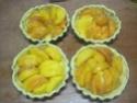 Tartelettes aux pêches abricots. photos. Img_8310